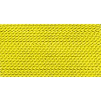 YELLOW SILK BEAD CORD #7
