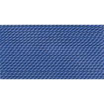 BLUE SILK BEAD CORD #8