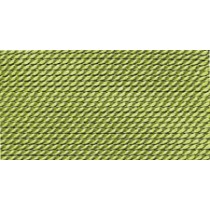 JADE GREEN SILK BEAD CORD #1
