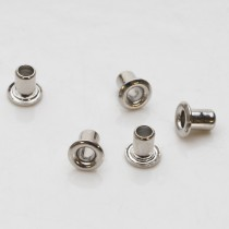 Pack of 24 Silver-Colored Eyelets - 1/8""