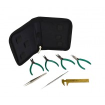 7-Piece Beading Tool Kit with Storage Case