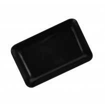 "4"" x 2-1/2"" Hollow Sorting Tray - Black"