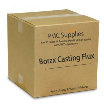 50 Lbs Anhydrous Borax Deoxidizing Casting Coarse Powder Flux for Melting Precious Metals