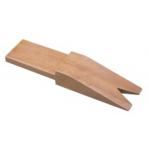 "7"" x 1-3/4"" Wooden Bench Pin with V-Slot"