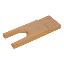 "7"" x 2-3/4"" x 7/8"" Wooden Bench Pin"