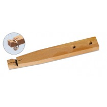 WOOD BENCH PIN FOR RINGS