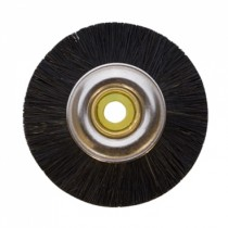 "Super 1-7/8"" Unmounted Stiff Brushes, Metal Nylon Green Center - 12 Pack"