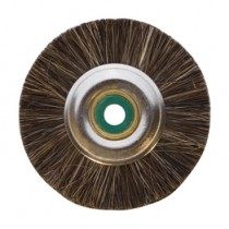 "Super 1-7/8"" Unmounted Medium Brushes, Metal Nylon Green Center - 12 Pack"