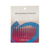 12-Piece Small Wax Bur Set