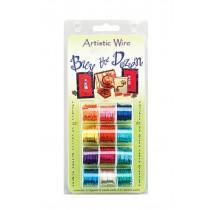 Pack of 12 Buy The Dozen Artistic Wire - 24 Gauge