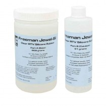 Freeman® Clear RTV Silicone Rubber Kit - 2.2 Lbs