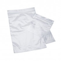 "Pack of 100 - 3"" x 4"" 2 Milliliter Poly Recloseable Plastic Bags"