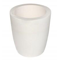 1000 Gram Ceramic Alumina Crucible Cup