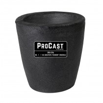 ProCast™ Premium Black No. 1 - 1 Kg Foundry Crucible