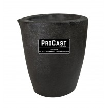 ProCast™ Premium Black No. 3 - 4 Kg Foundry Crucible
