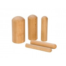 5-Piece Wooden Shaping Punch Set