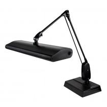 """Dazor® 3 Tube Fluorescent Light Desk-Type Lamp - Black, 110V with 33"""" Reach"""