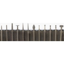 12 Piece High-Speed Diamond Point Set - Fine Grit