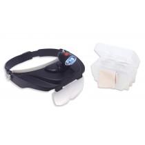 Headband Magnifier w/ Light