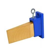 Jeweler's Bench Pin w/ Metal Mounting Holder
