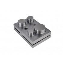"4 Piece Round Circle Steel Disc Cutter Set - 1"" to 2"""