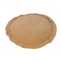 "8"" Round Leather Sandbag"