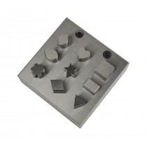 9-Piece Disc Cutter with Assorted Shapes