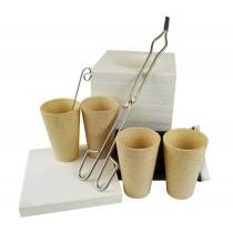 Microwave Gold Smelting Kiln Base Kit