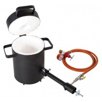 4 Kg Propane Metal Melting Foundry Furnace Light Duty