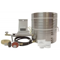 New KK-12 Kwik Kiln Propane Furnace Kit