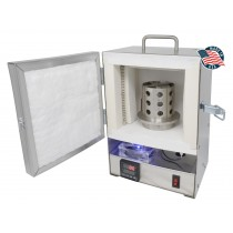 PROGRAMMABLE TableTop Hi-Temp 2200°F Electric Burnout Oven Kiln for 3D PLA/Resin, and Carvable Wax