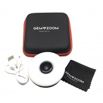 Gem-Zoom™ Phone Camera Attachment Lens for Gemstone Diamond & Jewelry Photographs
