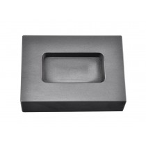 5 Troy Ounce Gold Rectangular Graphite Ingot Mold