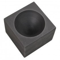 "Graphite Gold Single Cavity Conical Cone Mold 2"" x 1-1/2"""