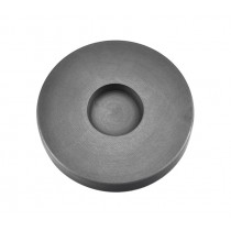 2 Troy Ounce Gold Round Coin Graphite Ingot Mold