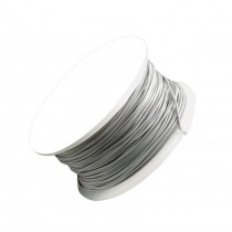 22 Gauge Gray Artistic Wire Spool - 15 Yards