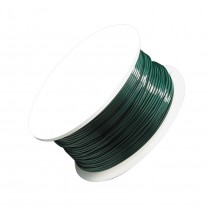24 Gauge Green Artistic Wire Spool - 20 Yards