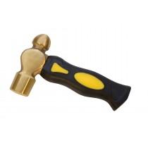 """6-1/4"""" 1 Lb Brass Hammer Mallet w/ Short Handle"""