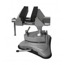 """2-3/4"""" Vacuum Base Jeweler's Swivel Tilt Rotating Vise"""