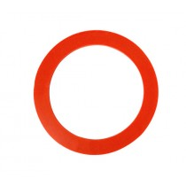 "4"" Red Silicone Ring"