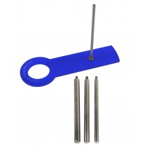 Jump Ring Maker Kit w/ 4 mm, 6 mm, 7 mm, and 8 mm Sizes