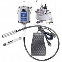 Foredom K.2200 Deluxe Jeweler's Flex Shaft Kit w/ 2 Handpieces & Foot Control