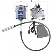 Foredom K.2820 SR Motor Flex Shaft w/ H.20 Handpiece Metal Foot Control & Accessories