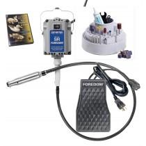 Foredom K.5240 Jeweler's Woodcarving Flex Shaft Kit w/ DVD