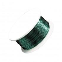 24 Gauge Kelly Green Artistic Wire Spool - 20 Yards