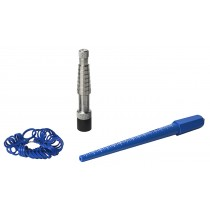 Ring Measuring and Stretching Kit w/ Plastic Ring Measuring Gauge Stick and Rathburn Ring Stretcher