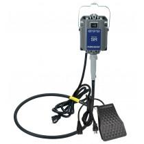 Foredom Reversible M.SR-FCT SR Flex Shaft Motor w/ Standard Shaft & Sheath & Foot Control - 115 Volts, 1/6 HP