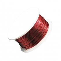 24 Gauge Magenta Artistic Wire Spool - 20 Yards