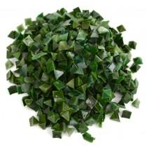 """1/4"""" Green Resin Vibratory Tumbler Media - 1 Lb"""
