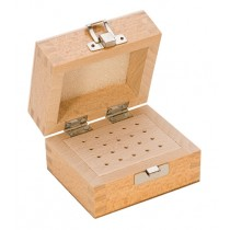 Wooden Bur Box with 20 Holes